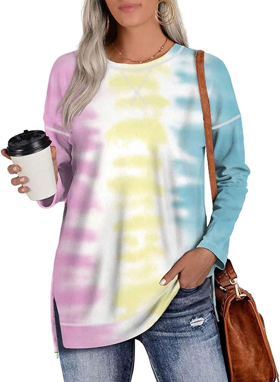 FABIURT Valentines Pullover Sweatshirts for Women,Womens Fashion Long Sleeve Leopard Plaid Crewneck Casual Shirts Tops