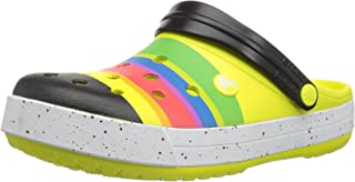 Crocs Womens Unisex-Adult 205109 Crocband Color-Burst Clog Green Size:
