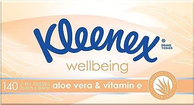 KLEENEX Facial Special Care Aloe Vera & Vitamin E Facial Tissues, 140 sheets