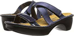Polar Sea Leather/Navy Patent Leather