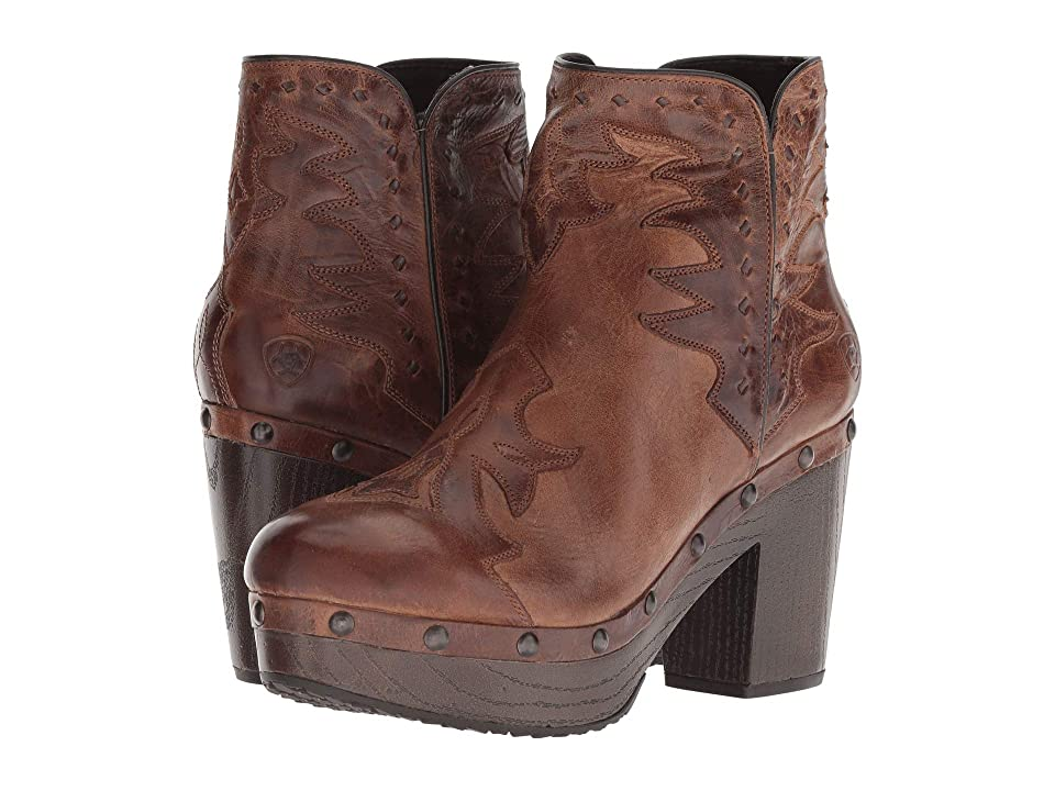 Ariat Music City (Crackled Tan) Cowboy Boots