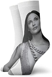 Kacey Musgraves メンズレディースノベルティソックスパーソナリティファッションコンフォートショートソックス通気性実用的