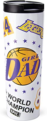EPIC Goods Girl Dad Thermos Travel Mug for Father's Day - Stainless Steel Insulated Tumbler | Keep Drinks Hot Iced Cold Longer for Coffee, Tea, Water