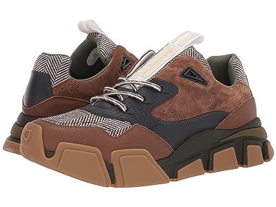 Salvatore Ferragamo Booster 4 Sneaker (Brown Sugar) Men