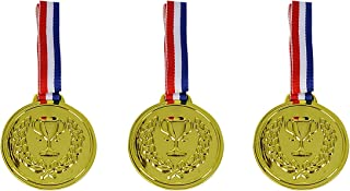 Simba World Of Toys Plastic Medal, Multi-Colour, 3 Pieces
