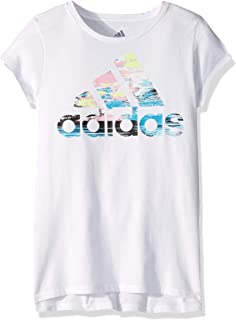 7eafcf4e3 adidas Girls' Short Sleeve Graphic Tee T-Shirt