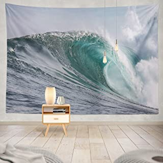 KJONG Waves Sea Water Waves Wave Surf Town Colour Waves Waves Waves Waves South Africa Surf Spot Sea Water Wave Spray Decorative Tapestry,50X60 Inches Wall Hanging Tapestry for Bedroom Living Room