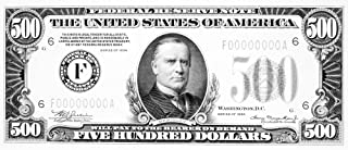 500 Dollar Bill Npresident William Mckinley On The Front Of A US Five Hundred Dollar Note 1934 Poster Print by (24 x 36)