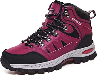 Walking Boots Mens Womens Trekking Boots Lightweight Outdoor Hiking Shoes