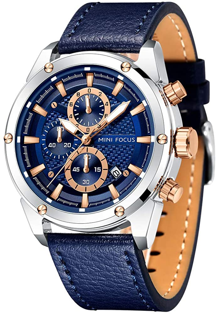 sold out Mens Watch Business Casual Year-end annual account Multifunction Watches Wrist Waterpro