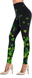 Uaderize Womens Ultra Soft Brushed Christmas Leggings Pants Ankle Length,XS-3XL