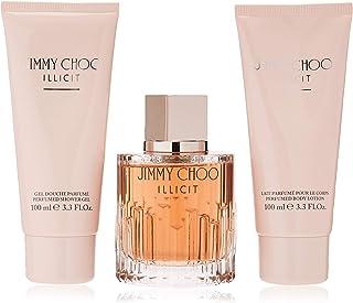 Illicit by Jimmy Choo Perfume Gift Set for Women Eau de Parfum 3 Count