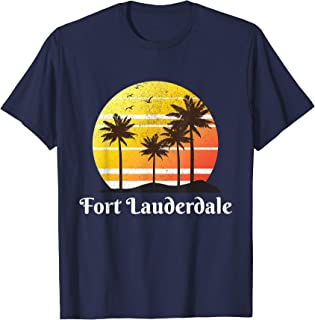 Fort Lauderdale Florida Vacation Family Group Gift T-shirt