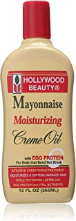 Hollywood Beauty Mayo Cream Moisturizer, 12 Oz