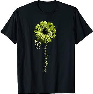 Non-Hodgkins Lymphoma Awareness T-Shirt Warrior Pretty Gift