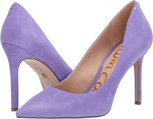 Wild Lavender Suede Leather