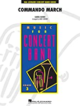 Hal Leonard Commando March - Young Concert Band Level 3 composed by Samuel Barber arranged by Curnow