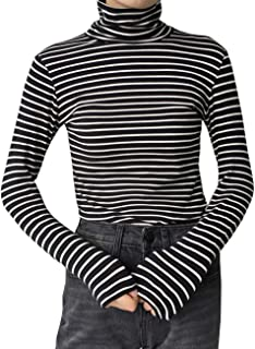 Best black and white striped long sleeve shirt Reviews