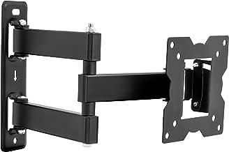 ATHLETIC Ultra Delgado Soporte de TV de Montaje de Inclinación Giratoria – para Pantallas LED, LCD y Plasma de 14-32 Pulgadas - VESA Máx. 100x100mm