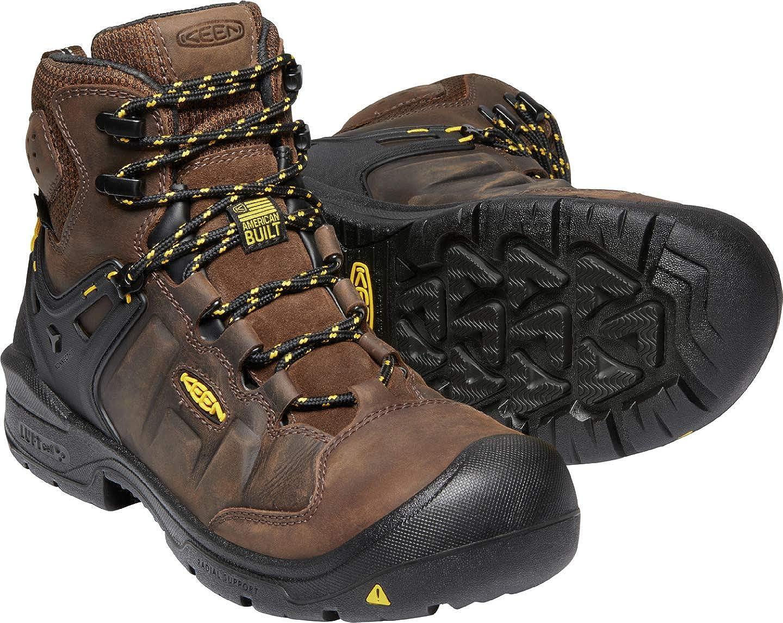 KEEN Utility Mens Dover 6 Waterproof Composite Toe Industrial Boot