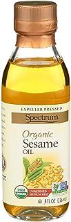 Spectrum Naturals Oil Sesame Unrefined, 8 oz