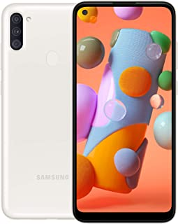 Samsung Galaxy A11 Dual SIM 32GB 2GB RAM 4G LTE (UAE Version) - White