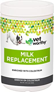 Vet Worthy Milk Replacement for Dogs and Cats