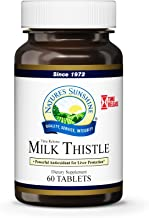 Nature's Sunshine Milk Thistle, 60 Time-Release Tablets | Supports The Digestive System, Protects The Liver, and Acts as a Powerful Antioxidant
