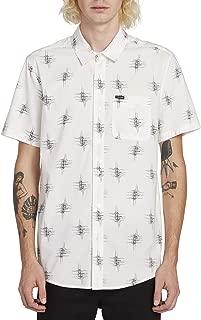 Volcom Men's Marker Fade Button Up Short Sleeve Shirt
