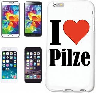 Reifen-Markt Hard Cover - Funda para teléfono móvil Compatible con Samsung Galaxy S7 I Love Pilze