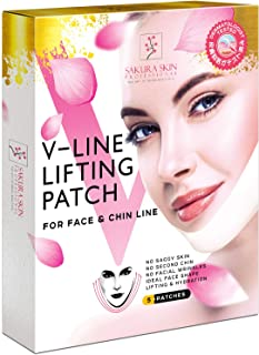 V Line Mask Neck Mask Face Lift V Lifting Chin Up Patch Double Chin Reducer Neck Lift V..