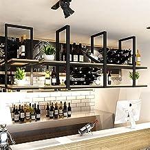 Plafondbalk Organisatieplank, Zwevende Planken Voor Het Ophangen Van Industriële Pijprekken, 2-laags Opbergrek Voor Weerga...
