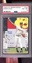 1994 Upper Deck Minor League #185 Derek Jeter PSA 8 Graded Baseball Card