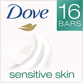 Dove  Sensitive Skin Beauty Bar 4 oz, 16 Bar