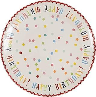 ceramic birthday plate