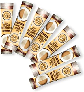 Coconut Cloud: Dairy Free Vegan Coffee Creamer | Vanilla Flavor + MCT Oil = Energy. Lightly Sweetened Coconut Powder Milk....