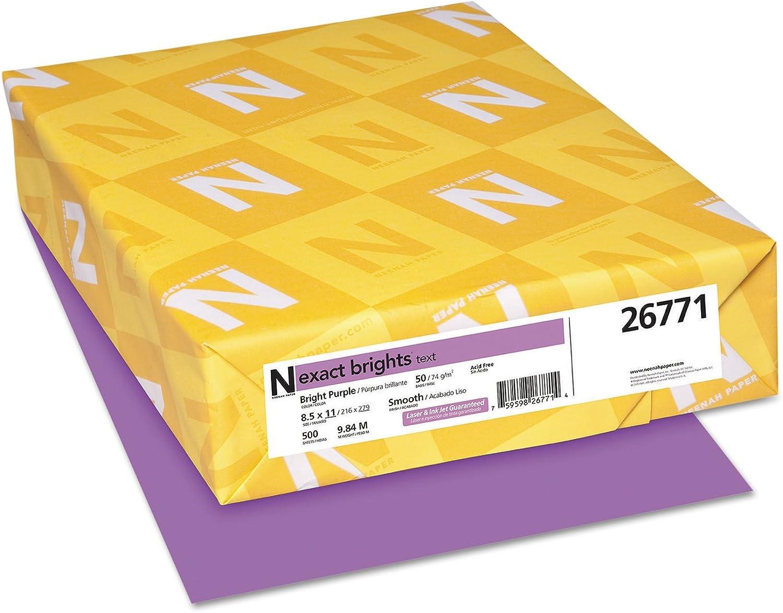 MOT MOT MOT Exact Brights Papier, 23 x 11 cm, Helllilat, 50 kg, 500 Blatt B00TBUWNMS  | Viele Sorten  72b5e0