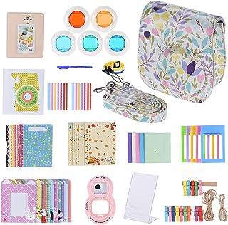 Andoer 14 in 1 Accessories Kit for Fujifilm Instax Mini 8/8+/8s/9 w/Camera Case/Strap/Sticker/Selfie Lens/5*Colored Filte...