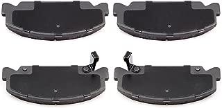 SCITOO Brake Pads, 4pcs Front Disc Brake Pad Set fit 88-94 1995 1996 1997 1998 1999 2000 Honda Civic 1993-1997 Honda Civic del Sol 1988-1991 Honda CRX,Honda Accord