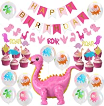 Best girl dinosaur party decorations Reviews