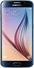 Điện thoại di động Android – Samsung Galaxy S6 SM-G920T 32GB Smartphone for T-Mobile – Sapphire Black (Renewed)
