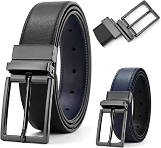 Belts for Men Reversible Leather Belts Colors and Sizes Adjustable