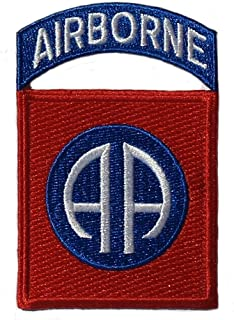 New 82nd Airborne Division Patch with Airborne Tab