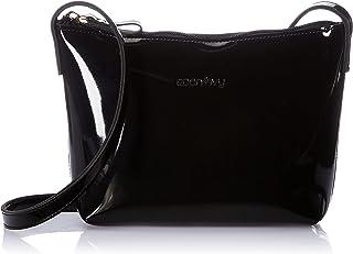 Amazon Brand - Eden & Ivy Women's Eden & Ivy Patent Sling (Black)