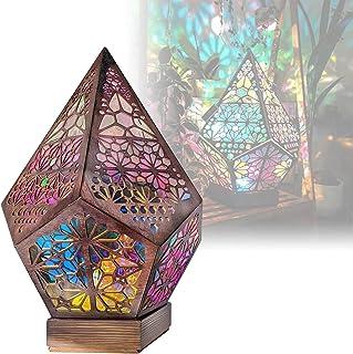 RCGvhfs Grand lampadaire Polar Star, Lampe décorative de Sol bohème géométrique, Lampe sur Pied, veilleuse à Projection de...
