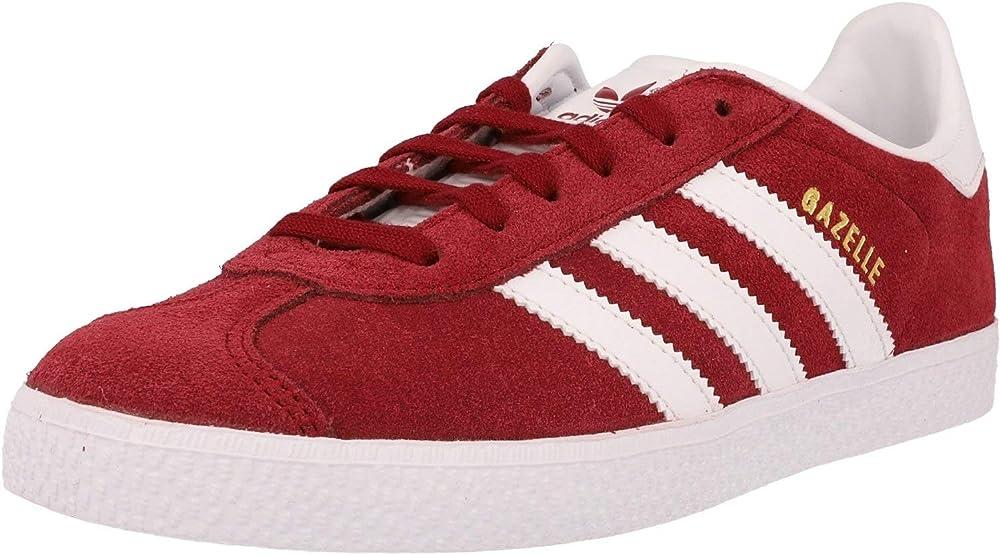 Adidas gazelle j , scarpe da ginnastica basse unisex ragazzi/ragazze in pelle scamosciata CQ2874