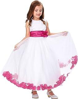 2d54e62e28577 GRACE KARIN Fille Cérémonie de Mariage Mignon Princess Robe sans Manches  10~11 Ans FR8936