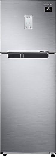 Samsung 244L 3 Star Inverter Frost Free Double Door Refrigerator (RT28T3523S8/HL, Elegant Inox, Curd Maestro) 1