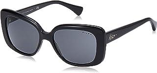 نظارات شمسية 0RA5241 للنساء من رالف لورين، (بريق اسود لمّاع)، 55