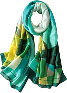 Lightweight Scarves: Fashion Lace Design Colorful Shawl Wrap For Women - Gift Box Package